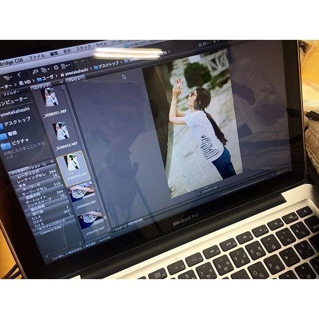 葉さん @yowtakahashi が、今日も最高な写真をたくさん撮ってくれました仕上がりがたのしみ@syte_official #shooting #syte #tshirts#fashion #photo