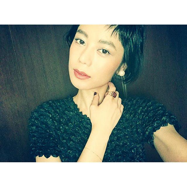 .Today's make.#eyebrow @shuuemura_jp #eye shadow @shuuemura_jp #mascara @guerlainkisskissjapan #cheek @maccosmetics #lip @maccosmetics #izmake #