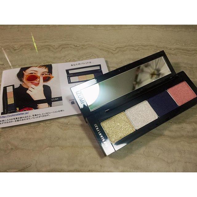 明日はall self.どんなメイクをしようかな。♡メイクもファッション。@shuuemura_jp #shuuemura #cosmetics #color #makeup #fashion