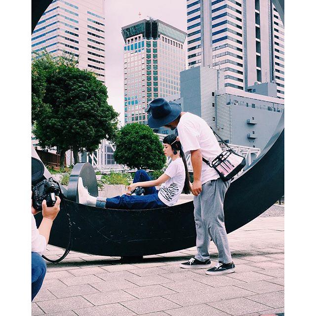 shooting.📸@syte_official #fashion #shooting #syte #yojiyamamoto