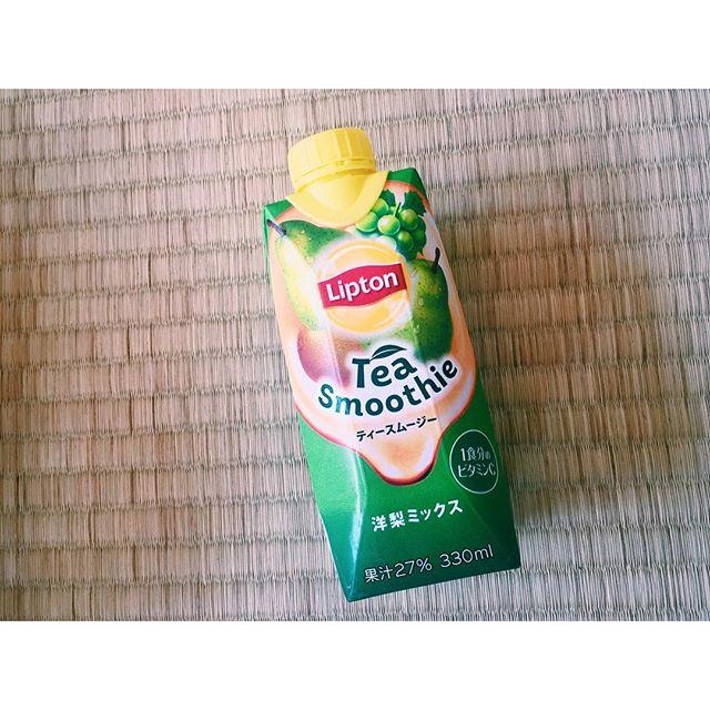 🍐🚣#summer #drink #fruits #lipton
