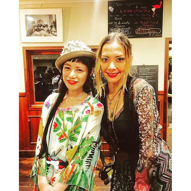 土屋アンナさんと♡とっても気さくで優しくて、オシャレで素敵な方でした@advanced_mode#そごう西武 #アドバンストモード