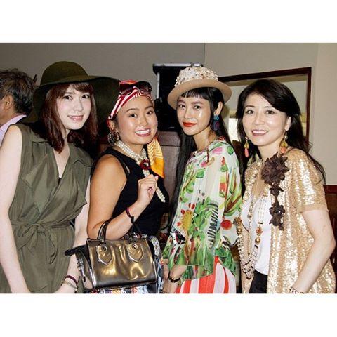 .@crazy_miki ちゃんのblogから!♡年齢関係なく、オシャレや自分を楽しむ人が一人でも多く増えたら日本がもっと楽しい国になるのになぁって語り合った日。そんなきっかけになれたら嬉しいな!@advanced_mode