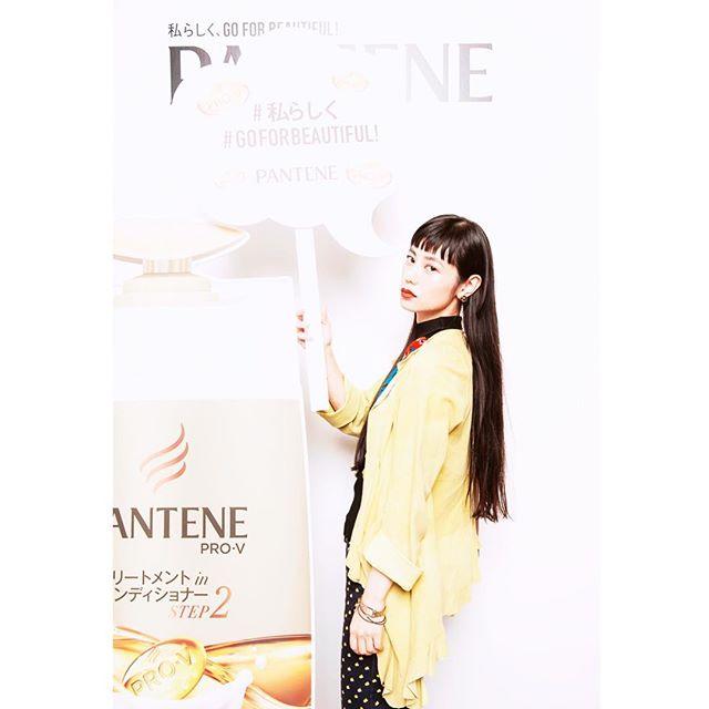 .9/28から新しく発売される新シャンプー@pantene の新作発表会へお邪魔してきた〜♡自分らしく!とってもとってもいいお話が聞けて前向きに頑張れそう!明日もhappyに。#ELLEgirl #PANTENE #PR
