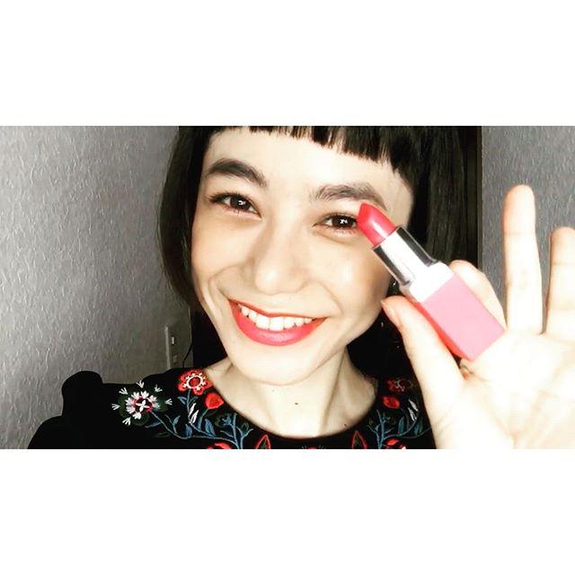 .@cliniquejp のlipを使って初めてmovieを撮ってみたよ♡どうかなぁ??なんか恥ずかしい。。#izmake #makeup #movie#lip #self #クリニーク #クリニークポップ #クリニークポップマット #pr
