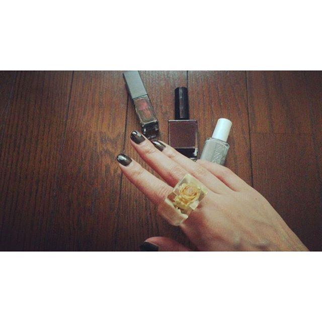 .nail movie.@threecosmetics @addiction_ayako @essie_japan #izmake #izumisfashion #self #nail #movie