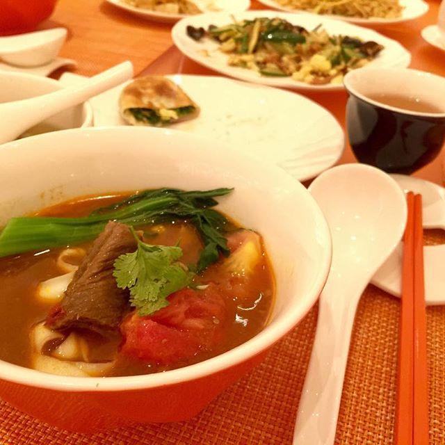 """.マカオの旅🇲🇴3日目のLUNCHは、""""99 Noodles""""へ中華料理が大好きだから、とってもとってもうれしかった#wynnpalace #99noodles #macau"""