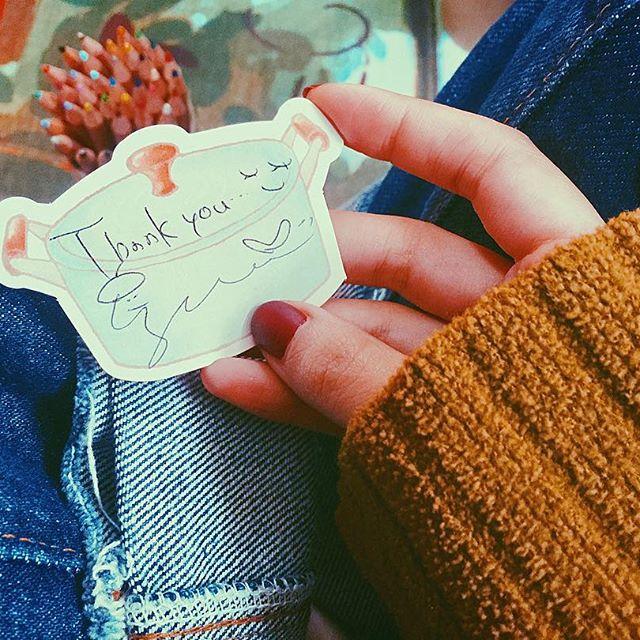 .〆切はあと8日💭#izumi手作りトート で当選した方へのメッセージを書き書きバッグ作っていて、正直私も欲しくて使いたくなっちゃって。笑そんなお気に入りになるものが作れてうれしいな