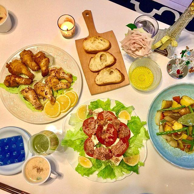 .おねえちゃん家でX'mas Party#xmas #home #party #dinner