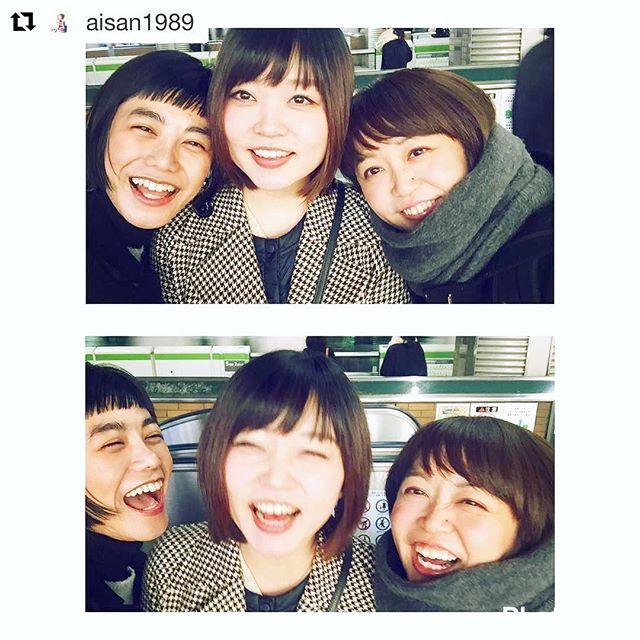 .北海道にいる友人が東京に来るからって連絡くれて限られた時間なのに会ってもらえるって幸せなことだなぁって。ずっとずっとだいすきな友。あなたの幸せを心から願ってます。#Repost @aisan1989 with @repostapp・・・..大好きないづみん️@izuuumixxx ..離れてるから頻繁には会えないけど会うたびに少しずつ確実に進化していて追いつきたくてもどんどん差をつけられてしまうそんな存在。.でも庶民的な部分とか、ど天然なところ、近所のおばちゃんぽいリアクションとかそこはな〜んにも変わってなくて本当に大好き.みんな新宿スワン2観てね🏻