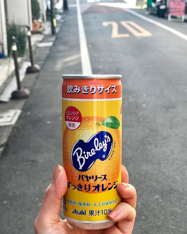 オレンジジュースが美味しかった日。♡#orangejuice