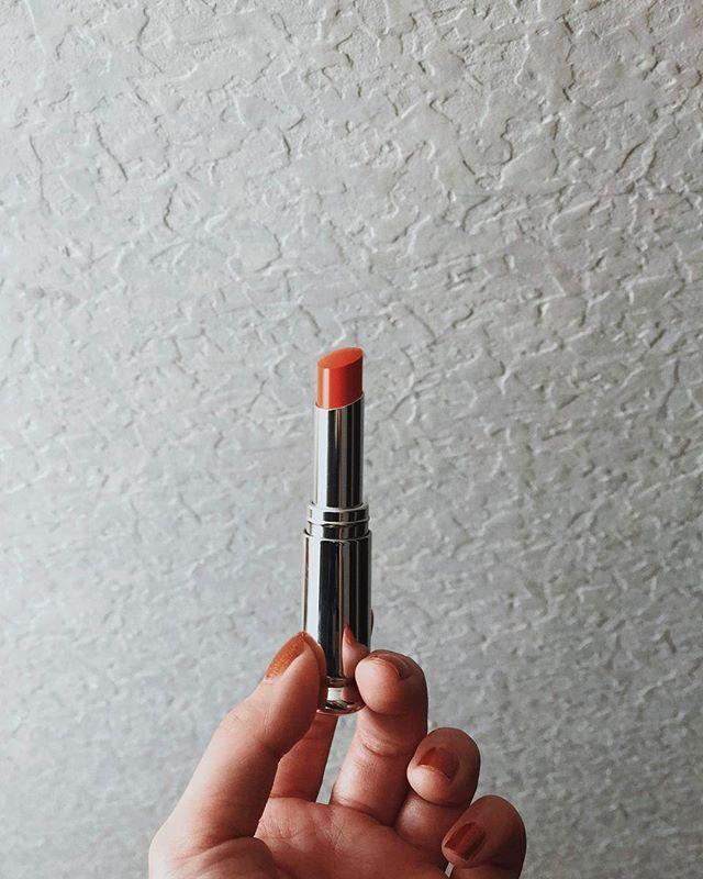 限定色 #orange #lip #dior