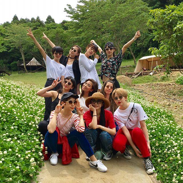 みんなでキャンプ♡#skii #伊豆 #partnershipwithsk2 #elleloveswild#facethewild#sk2と出かけよう
