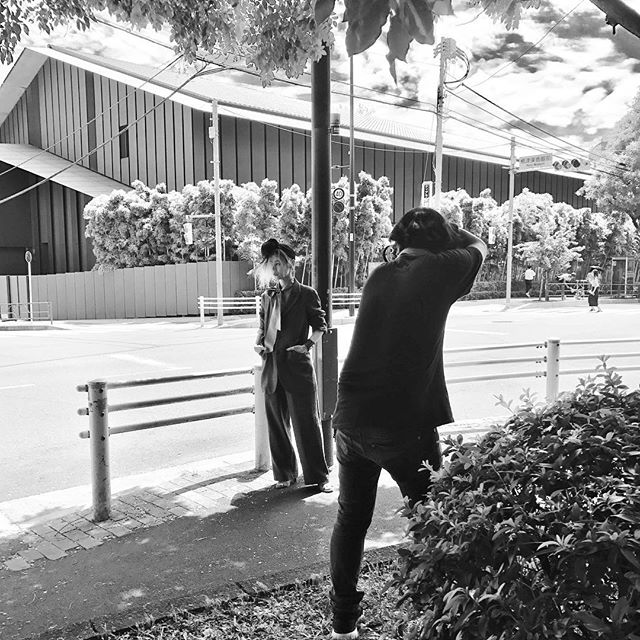 秋冬やっぱりすきだー!暑い中、@cazumax さんが頑張って下さった🏻📸好きな写真たくさんだけど、まだ遠目のものだけにしておきます🏻 @874hana ︎#strama #drop #tokyo #rmk