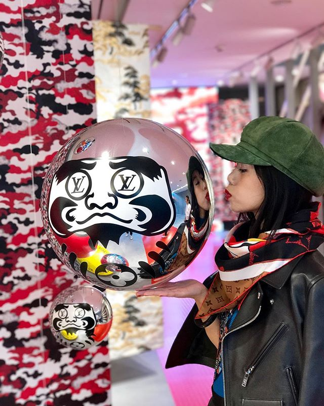 #lvkabukiphoto by sotobori#louisvuitton #omotesando #tokyo