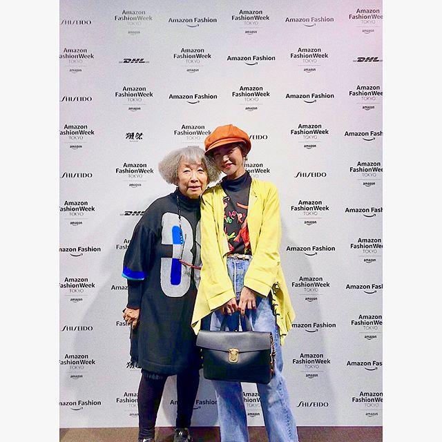 Amazon fashion week Tokyo.TOKUKO 1er VOL🏵引き込まれたショーでした#amazonfashionweek #tokuko1ervol