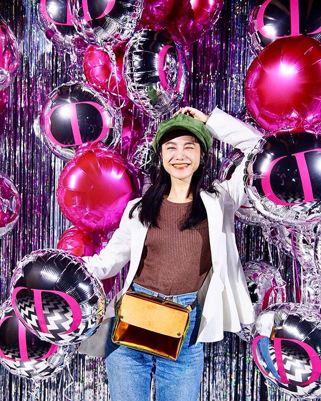 DIOR ADDICT LACQUER PLUMP LAUNCH PARTY in Tokyo.オレンジのグリッターに惹かれました🧡#DiorAddictLacquerPlump#ディオールアディクトラッカープランプ