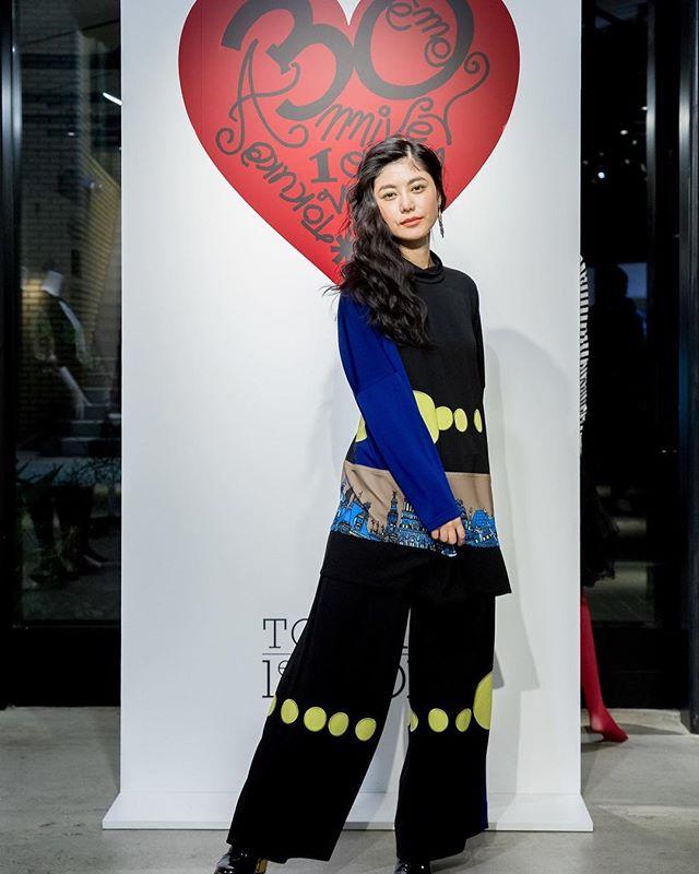 先日の #tokuko1ervol 30周年イベントの様子が @fashionsnapcom にて🤲