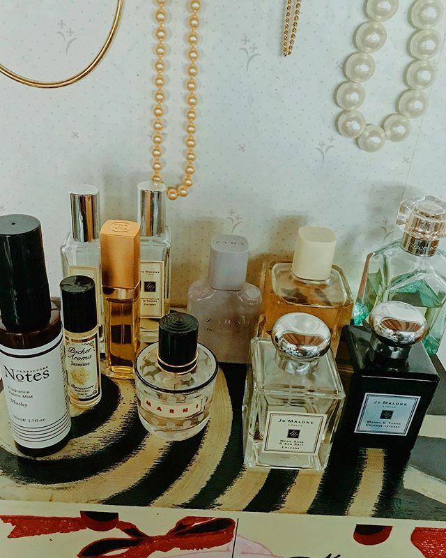 :)香りを組み合わせて遊んでる香りってたのしい!!!家の中もいい香りに包まれると幸せになる♡#happy #life #fragrance #room