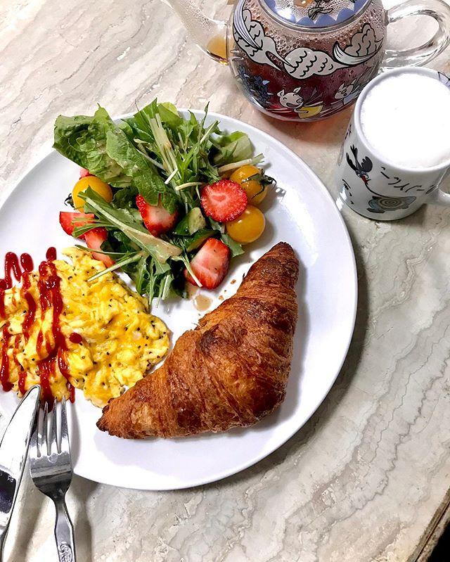 good morning :)しっかり食べよう♡料理をじっくり楽しめるチャンス( ︎'ω')︎#cooking