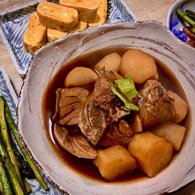 :)ブリ大根🥢🥣♡和食がやっぱりすき。♡#stayhome